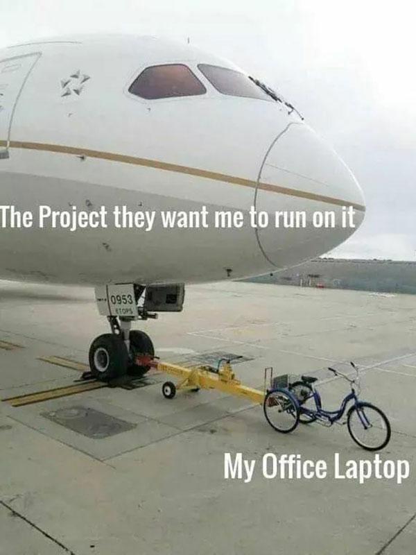 My Office Laptop