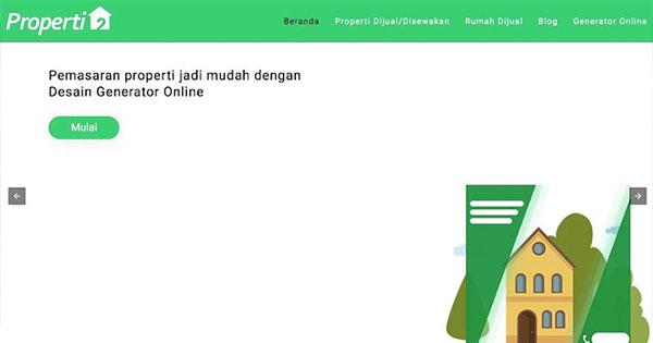 Properti2 Web Portal